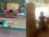 Bé trai chui gầm giường trong khu cách ly được ưu tiên cho về nhà ông bà nội cách ly