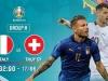 Link xem trực tiếp bóng đá ĐT Italia - ĐT Thụy Sĩ: 'Siêu cỗ máy' của Mancini muốn nối dài mạch bất bại