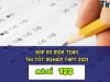 Đáp án môn Toán mã đề 122 kì thi THPT Quốc gia 2021
