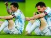 Argentina vô địch Copa Ameria 2021, Messi gọi điện ngay cho vợ báo tin vui