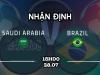 Dự đoán kết quả, nhận định U23 Saudi Arabia vs U23 Brazil, 15h00 ngày 28/7: Châu chấu đá voi