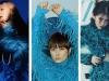 Đụng hàng áo lông vũ xanh trên bìa tạp chí, Dương Mịch 'chặt đẹp' cả sao Hàn lẫn sao Trung