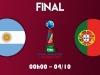 Xem trực tiếp chung kết World Cup Futsal (0h00, 4/10): Argentina vs Bồ Đào Nha