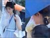 Cúc Tịnh Y tập làm 'yang hồ' ở hậu trường Hoa Nhung, nhưng kiểu tóc 'cute hạt me' có phản chủ quá không?
