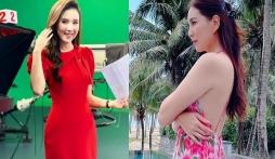 MC Mai Ngọc VTV khoe điểm quyến rũ nhất trên cơ thể trước giờ lên sóng