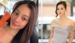 Hoa hậu Tiểu Vy lộ ảnh chụp lén gương mặt mộc: Bất ngờ với nhan sắc thật