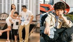 Lộ diện 'con trai' Ngọc Trinh và Vũ Khắc Tiệp: Sành điệu không kém gì 'bố mẹ'