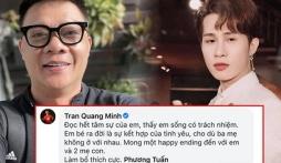 BTV Quang Minh 'quay xe' vội khi vừa dành lời khen ngợi đến Jack giữa bê bối tình trường