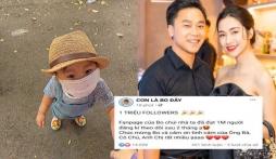 Quý tử nhà Hoà Minzy khiến dân tình phát 'sốt' với món quà sinh nhật sớm có giá trị 'khủng'