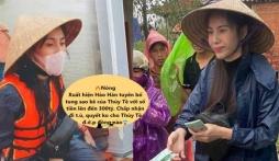 Một 'anh hùng mạng' tuyên bố tung sao kê của Thuỷ Tiên lên đến 300 tỷ, chấp nhận 'xộ khám' để 'vạch mặt' nữ ca sĩ