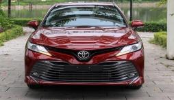 Bảng giá xe Toyota Camry tháng 7/2021: Thêm ưu đãi, củng cố vị trí dẫn đầu phân khúc