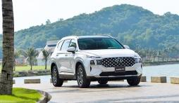 Bảng giá Hyundai Santa Fe tháng 7/2021: Món hàng hot nhất trong phân khúc SUV 7 chỗ