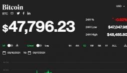 Giá bitcoin hôm nay 17/9: Vừa lạc quan đã lại rớt giá, thị trường đỏ lửa