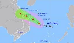 Tin áp thấp nhiệt đới khẩn cấp: Khả năng mạnh thành bão tiến thẳng vào đất liền miền Trung