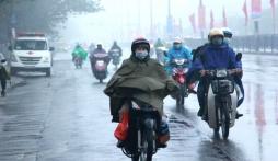 Dự báo thời tiết 10 ngày (21-31/10): Chiều 21/10 không khí lạnh bao trùm Bắc Bộ, trời rét căm căm