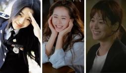 6 nữ thần mặt mộc của phim Hàn: Son Ye Jin 'vô đối', Song Hye Kyo đầy rạng ngời