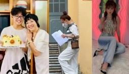 Sao Việt 25/10: Vy Oanh vui mừng hậu 'đánh thẳng' bà Phương Hằng, Ngọc Trinh 'thả rông' cực bạo