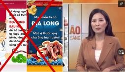Kệ VTV lên án, thêm 1 sao Việt đưa tin sai lệch 'chữa Covid-19 bằng Địa Long', buông lời thách thức