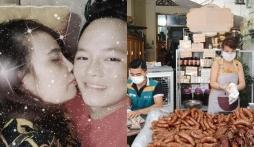 'Mai danh ẩn tích' trên MXH, cô dâu Thu Sao bất ngờ khoe hạnh phúc bên chồng trẻ