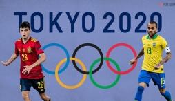 Lịch thi đấu bóng đá hôm nay: Lịch thi đấu bóng đá nam Olympic 2020, trực tiếp VTV