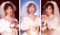 Mao Hiểu Đồng gây 'sốc visual' khi diện váy cưới, nhan sắc tưởng không đẹp mà đẹp không tưởng