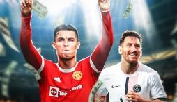Ronaldo đòi lại ngôi 'Vua kiếm tiền' trong làng bóng đá thế giới từ tay Messi