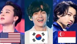 10 nhóm nhạc Kpop Gen 3 nổi tiếng nhất: BTS bá chủ thế giới, EXO, NCT, BLACKPINK chia nhau về nhì