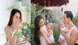Hồ Ngọc Hà than thở nỗi khổ khó nói sau khi sinh con cho Kim Lý