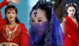 24 mỹ nhân Cbiz đội trang sức che trán: Triệu Lộ Tư thần bí, Dương Mịch, Lệ Dĩnh yêu dã đến trùm cuối lẳng lơ nhất màn ảnh