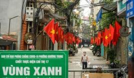 Hà Nội không áp dụng giấy đi đường và phân chia 3 vùng sau 6h ngày 21/9