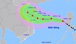 Tin bão số 5: Bão Côn Sơn giật cấp 11 đang lao nhanh hướng thẳng vào Bắc Bộ