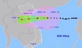 Cập nhật tin bão mới nhất: Bão số 8 chỉ còn cách Thanh Hóa khoảng 600km