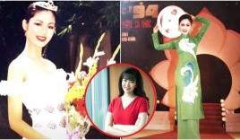 Nhìn lại ảnh thuở mới đăng quang của Hoa hậu Thu Thủy: Đúng chuẩn 'quốc sắc thiên hương'