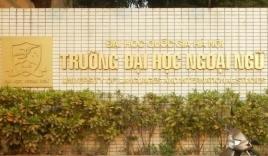 Điểm chuẩn Đại học Ngoại ngữ - ĐH Quốc gia Hà Nội 2021