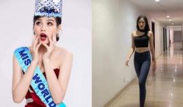 Đỗ Thị Hà lộ ảnh đăng quang Hoa hậu Thế giới dù cuộc thi còn chưa diễn ra
