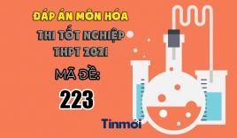 Đáp án môn Hóa học mã đề 223 kì thi THPT Quốc gia 2021