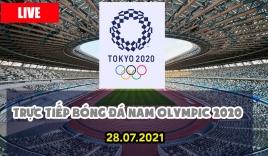 Lịch trực tiếp bóng đá nam Olympic hôm nay 28/07, xem trực tiếp bóng đá nam Olympic trên VTV