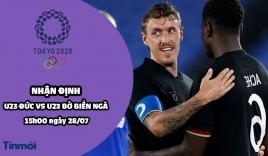 Nhận định U23 Đức vs U23 Bờ Biển Ngà, 15h00 ngày 28/07: Bảng D bóng đá nam Olympic 2020