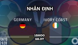 Dự đoán kết quả, nhận định U23 Đức vs U23 Bờ Biển Ngà, 15h00 ngày 28/7: Tiễn xe tăng về nước