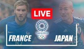 Trực tiếp U23 Pháp vs U23 Nhật Bản, bảng A Olympic 2020: 18h30 ngày 28/07
