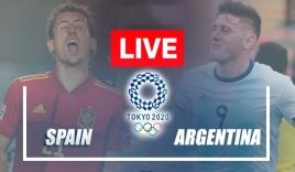 Trực tiếp U23 Tây Ban Nha vs U23 Argentina, bảng C Olympic 2020: 18h00 ngày 28/07