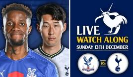 Trực tiếp Crystal Palace vs Tottenham, link xem trực tiếp Crystal Palace: 18h30 ngày 11/09