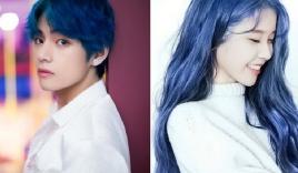 17 idol Kpop đẹp chói chang khi nhuộm tóc màu xanh thiên thanh