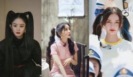 15 mỹ nhân Cbiz để tóc 2 chùm: Dương Mịch tựa nữ thần, Lệ Dĩnh như Maleficent