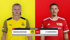 Nhận định Dortmund vs Union Berlin (22h30, 19/09) vòng 5 Bundesliga: Ai cản nổi 'quái vật' Haaland?