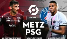 Nhận định Metz vs PSG (2h00, 23/09) vòng 7 Ligue 1: Vắng Messi, không vấn đề