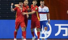 Người hùng Futsal Việt Nam dành tặng 'chiến tích' quả cảm trước Á Quân World Cup cho quê nhà