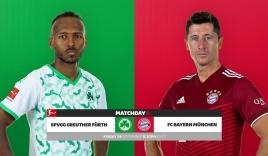 Nhận định Fuerth vs Bayern Munich (1h30, 25/09) vòng 6 Bundesliga: Tí hon gặp Goliath