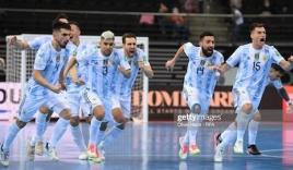 Kết quả World Cup Futsal: Argentina hạ gục ĐT Nga, đối đầu Brazil ở bán kết