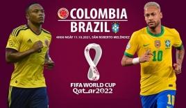 """Nhận định Colombia vs Brazil (4h00, 11/10) vòng loại World Cup: Khó cản """"cơn lốc vàng xanh"""""""